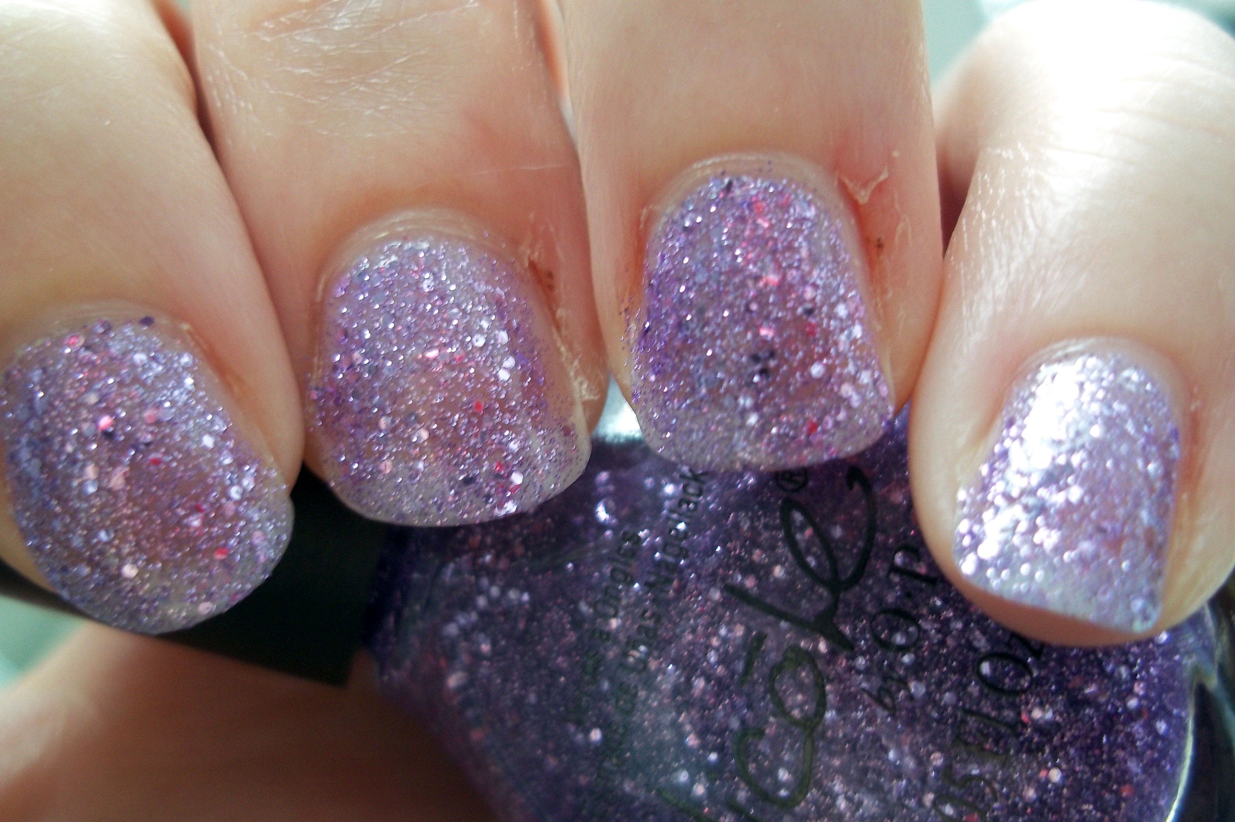 Nicole by OPI: One Less Lonely Glitter | DEATH BY POLISH pick your ...